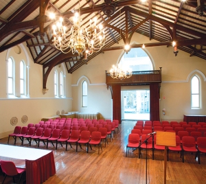 NSCES venue : Meeting Hall, at rear of Adelaide Town Hall